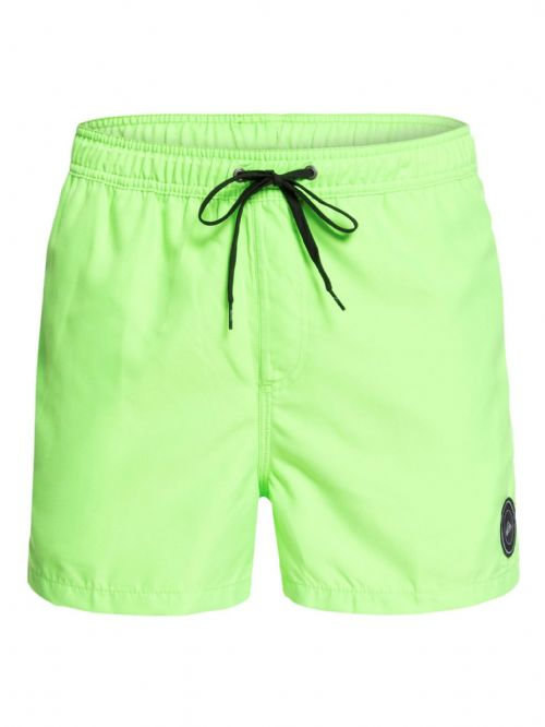 "QUIKSILVER MENS SHORTS.NEW GREEN EVERYDAY VOLLEY 15"" LINED SWIM BOARDIES 9S 7GG"